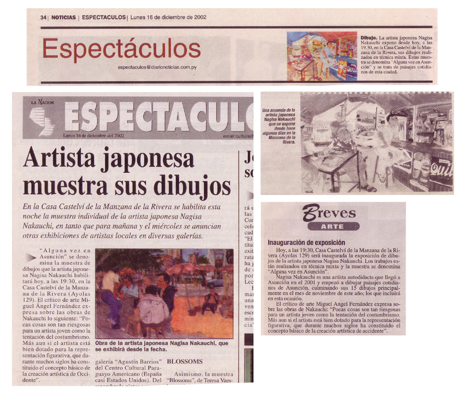 LA NACION, NOTICIAS, abc(パラグアイ 2002年)